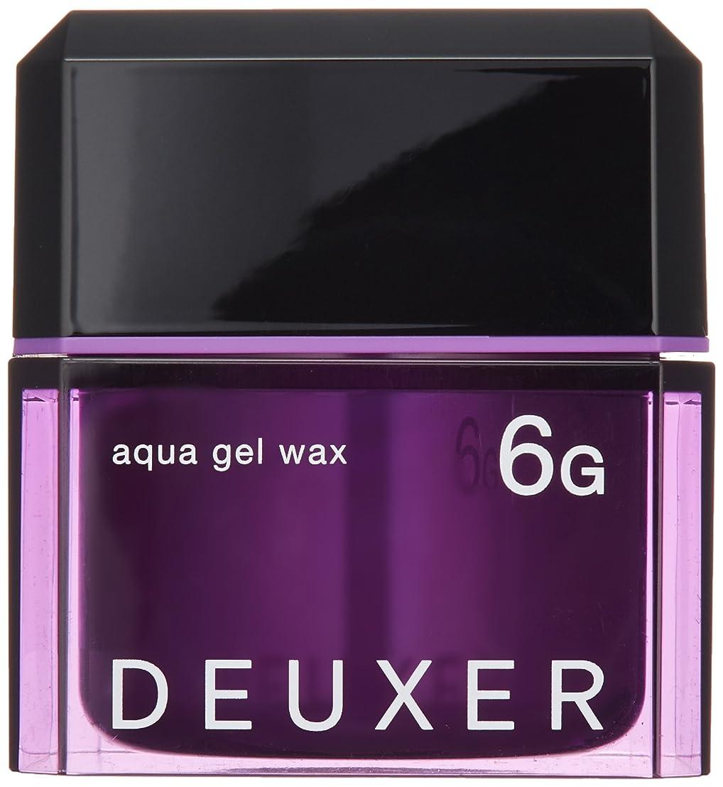 変換するトランク寝室を掃除するナンバースリー DEUXER(デューサー) アクアジェルワックス 6G 80g
