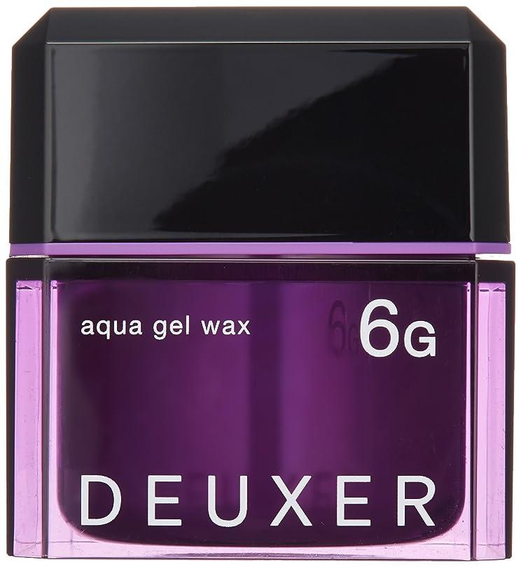 刈り取る何故なの検出ナンバースリー DEUXER(デューサー) アクアジェルワックス 6G 80g