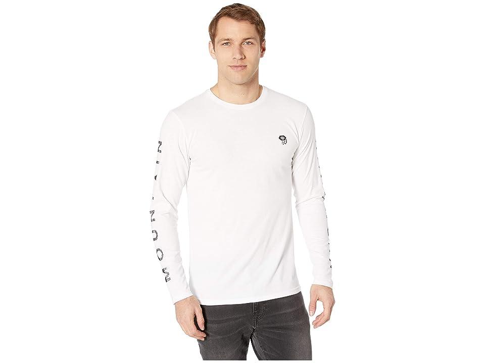 Mountain Hardwear Hardweartm Long Sleeve Tee (White) Men
