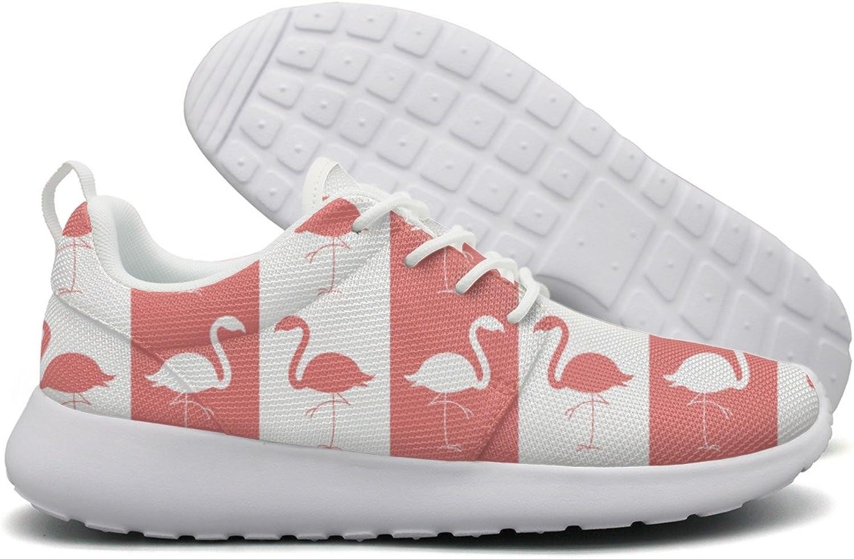 Flamingo Birds-01 Womens Flex Mesh Lightweight shoes Women