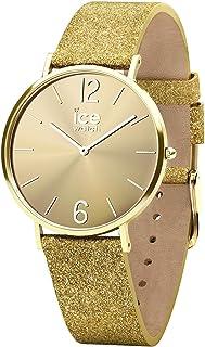 Ice-Watch 015081 Women's Quartz Watch, Analog Display and Leather Strap