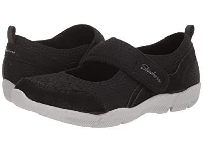 SKECHERS Be-Lux (Black/Light Grey) Women