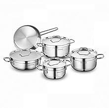 Korkmaz Alfa 9 Piece Cookware Set by Korkmaz