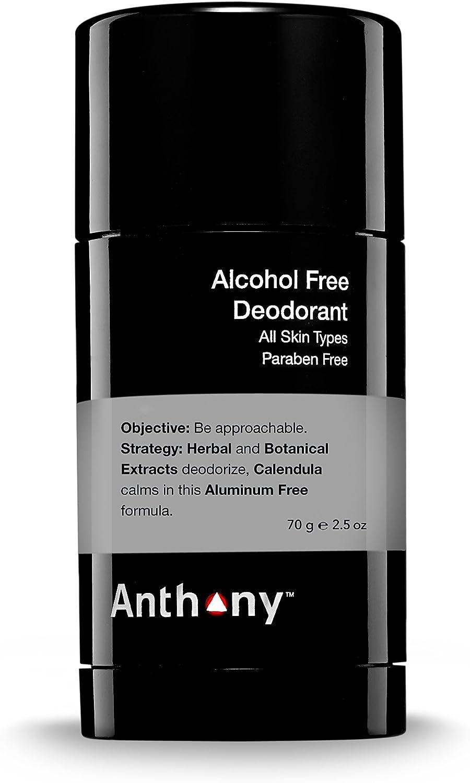 Anthony deodorante senza alcool