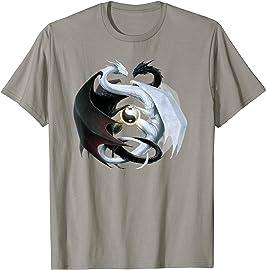 Yin & Yang Dragon T-shirt
