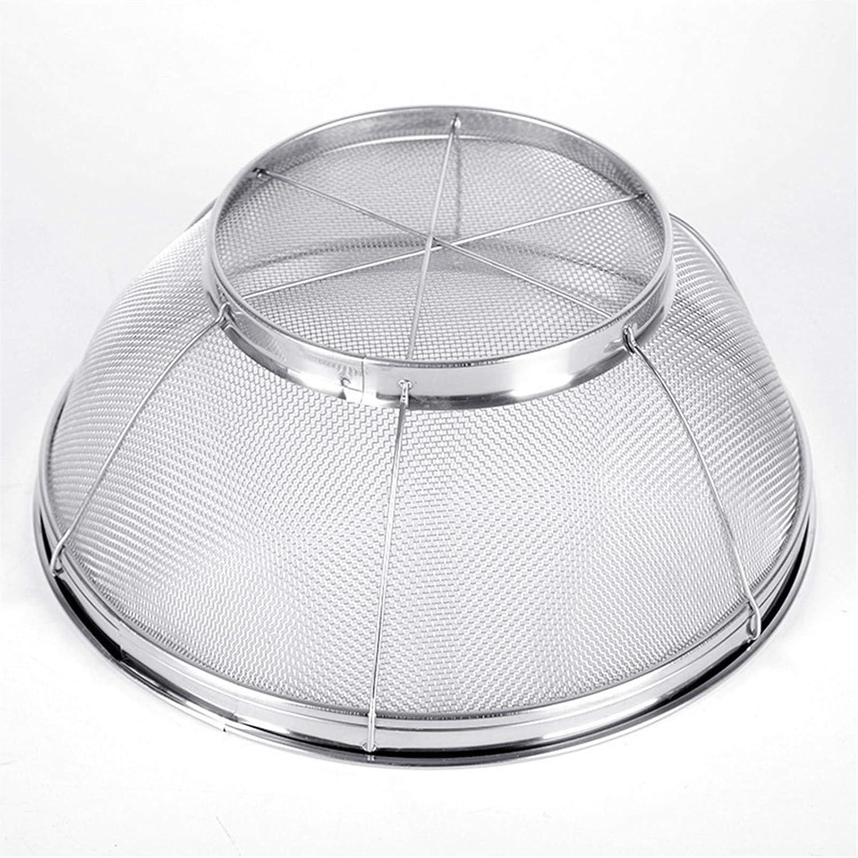 Strainer Rapid rise Basket Stainless Steel Virginia Beach Mall Kitchen Drain Food Silver