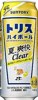 サントリー トリスハイボール缶 夏・爽快Clear [ ウイスキー 日本 500ml×24本 ]
