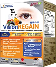 LABO Nutrition VisionREGAIN - Smart Liposomal Delivery, up to 8X Higher Absorption, 20mg FloraGLO Lutein, zeaxanthin, Supe...