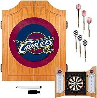 NBA Cleveland Cavaliers Wood Dart Cabinet Set