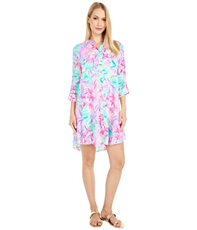 Lilly Pulitzer Natalie Cover-Up (Multi It Was All A Dream) Women