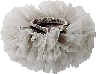 Slowera Baby Girls Soft Tutu Skirt (Skorts) 0 to 36 Months (M: 6-12 Months, Gray)