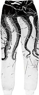 Men Women 3D Casual Active Sports Joggers Pants Trousers Sweatpants