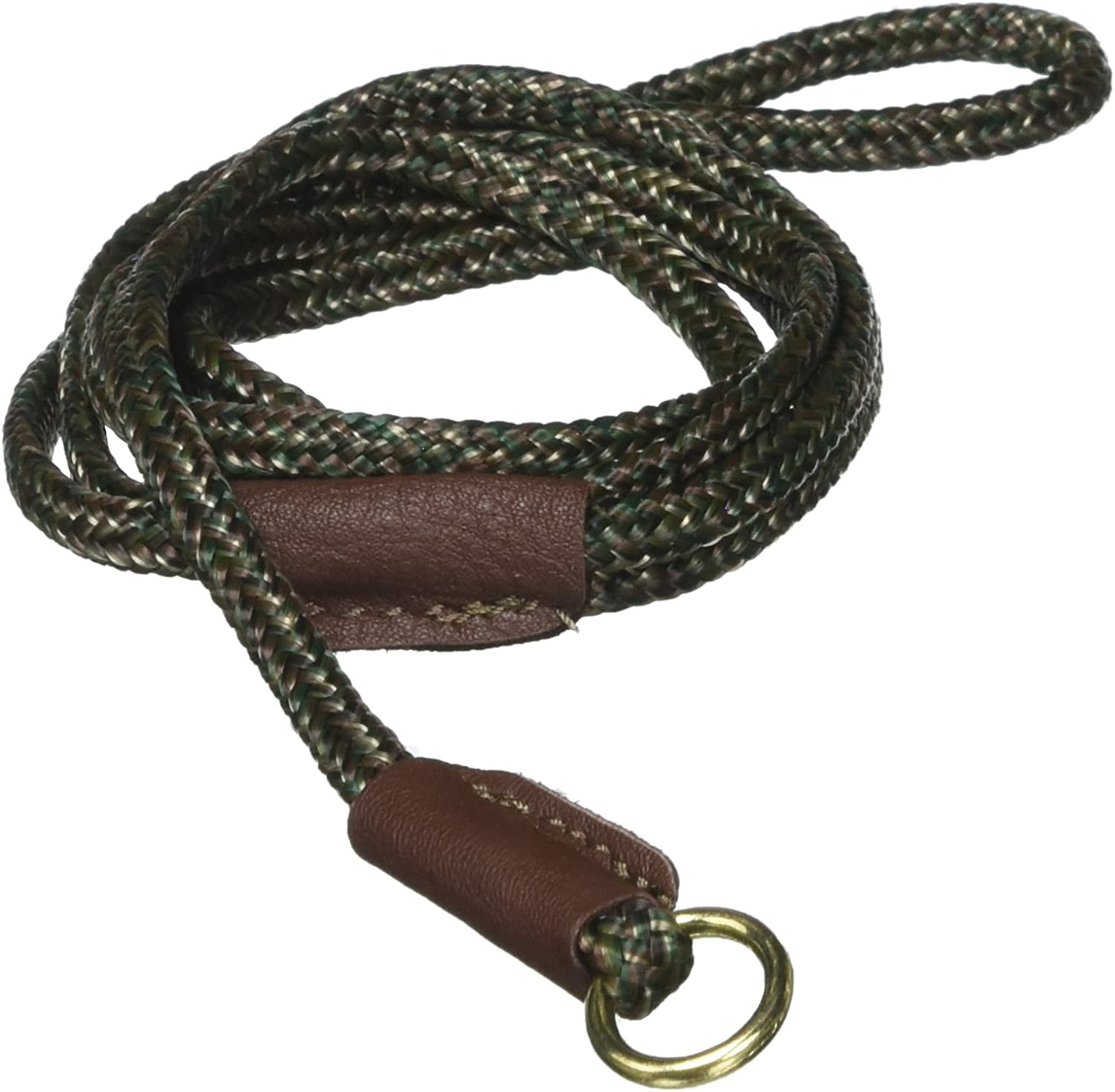 Mendota British Show Slip Lead, Camo, 1 8  by 54