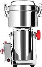 Cueffer Molino de Grano Máquina Eléctrica de Molino Molino de Grano Acero Inoxidable Máquina Oscilante de Moler para Pulverizar Hierba de Grado Alimenticio Maquina de Molino (500g)