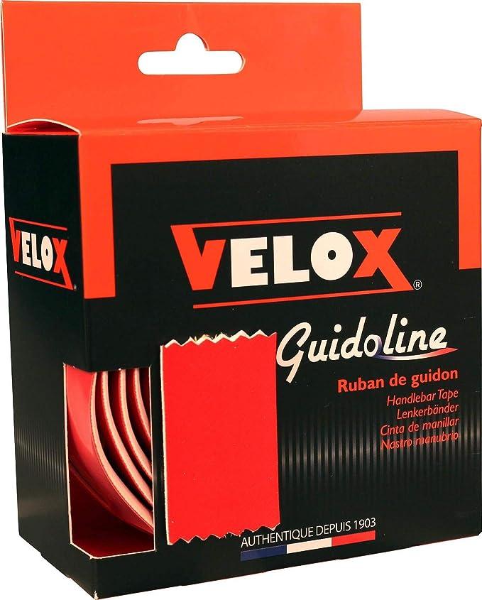 VELOX Guidoline Bike Handlebar Metallic Effect Bar Grip Bande de Guidon Mixte