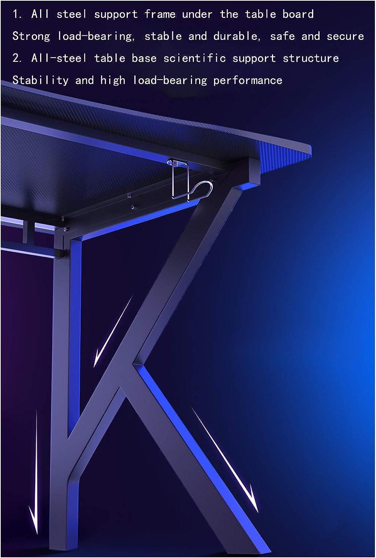 E-sports Chaise de bureau ergonomique avec accoudoirs rabattables et support de la taille, réglable en hauteur Noir Noir 1