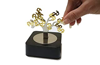 Aryellys Magnetic Sculpture, Money Tree Magnetic Toys with Mirror Base, Magnetic Desk Toys, Magnet Toys for Adults, Stress...