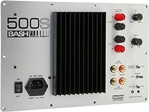 Bash 500W Digital Subwoofer Amplifier
