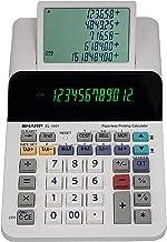 $64 » Compact Cordless Paperless Large 12-Digit Display Desktop Printing Calculator That Utilizes Printing Calculator Logic - New