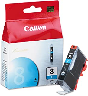 Canon CLI-8 Ink Cartridge, Cyan - in Retail Packaging
