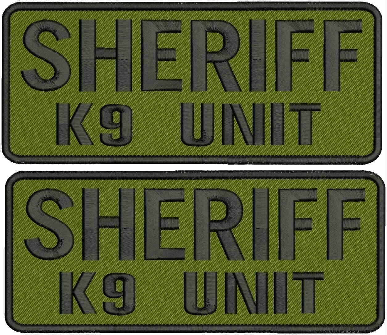 Embroidered Patch - Patches Price reduction for Women k9 Max 60% OFF Unit Sheriff Hook Man