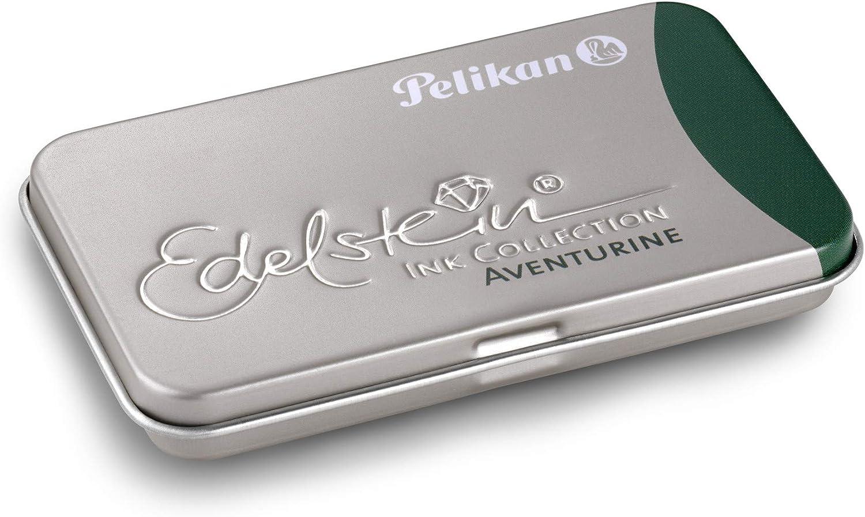Pelikan 339630 Gtp 6 Tintenpatronen Edelstein Ink Im Metalletui Sapphire Blau Weitere Farb Variationen Verfügbar Bürobedarf Schreibwaren
