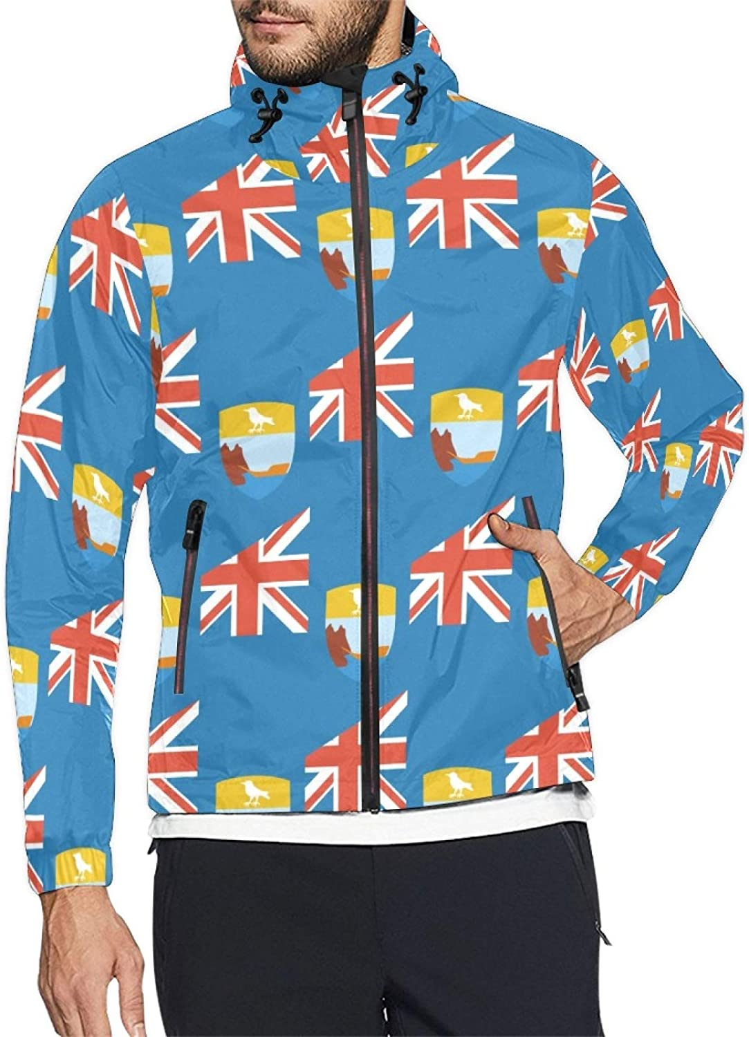Lowest price challenge Saint Helena Flag Mens and Windbreaker Windproof OFFicial store Jacket Womens