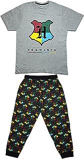Mens/Boys Official Harry Potter Hogwarts Pyjama Set/Pyjamas Size S-XL