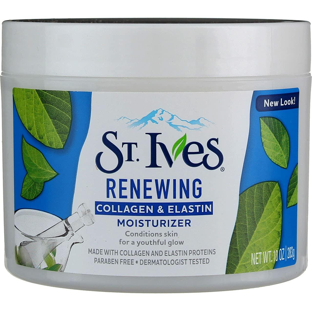 St. Ives High material Renewing Collagen Max 81% OFF Elastin 283 g oz 10 Moisturizer