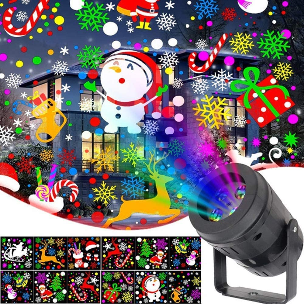 Ranking TOP4 Mangoo Christmas Projector Lights Very popular Rotating Stage Colorful Light