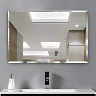 Art Street Wall Mounted Glass Mirrors for Bathroom (16 x 24 Inches, Silver)