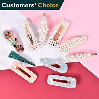 Hair Clips for Women Girls Ladies Elegant 10 Pcs Hair Styling Tools Fashion Hair Accessories for Birthday Valentine Day Gifts and Party Wedding Daily Bling Hairpins Headwear Barrette Styling Tools