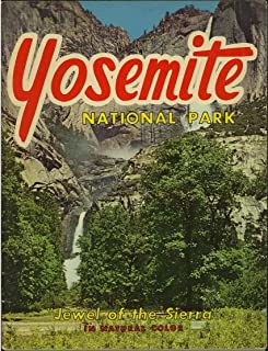 "Yosemite National Park ""Jewel of the Sierra"" (1960's Souvenir Photo Booklet)"