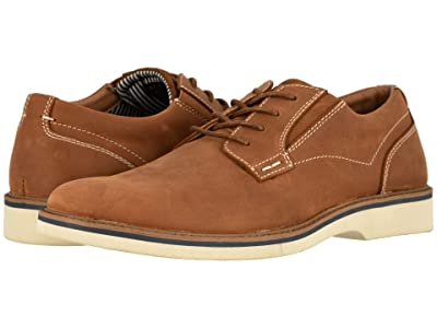 Nunn Bush Barklay Plain Toe Oxford (Tan Crazy Horse) Men