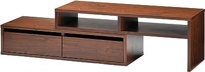 高梨産業 テレビボード(ブラウン) 伸縮式 RL-R8121