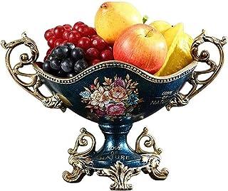 MCE Fruitmand Fruit Kom Stand voor Teller Stijlvolle Elegante Decoratie Ornamenten Creatieve Ambachten Fruitplaat Hars Eur...