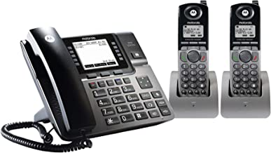 $237 » Motorola ML1002H DECT 6.0 Expandable 4-line Business Phone System with Voicemail, Digital Receptionist and Music on Hold, ...