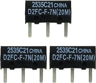 IT-Services Irro 3X D2FC-F-7N (20M) Kit de Reparación de Microinterruptor/Kit de Reparación apropiado para Mouse de computadora de Logitech, Razer, Roccat, SteelSeries y Otros
