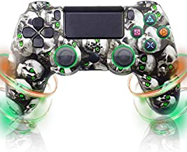 $43 » ZUIZU Wireless Controller for PS4, Game Controller for Playstation 4/Pro/Slim Consoles Touch Panel Joypad with Double Vibr...