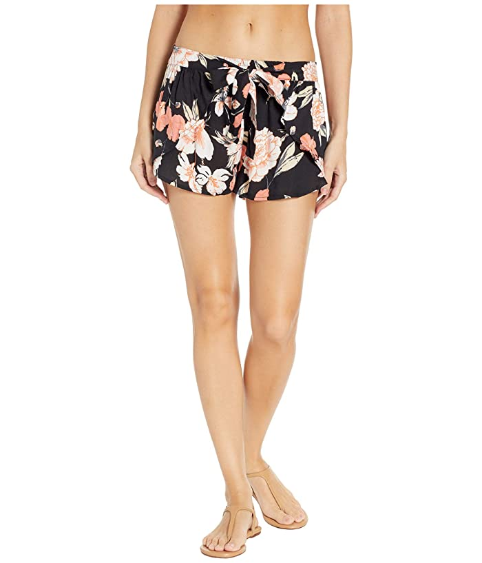 Roxy Lemon Chill Shorts Cover-Up (Anthracite New Flowers) Women