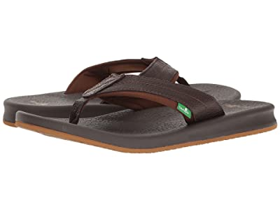Sanuk Brumeister Primo (Dark Brown) Men