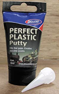 DELUXE MATERIALS Dollhouse Miniature Perfect Plastic Putty for Miniature & Hobby Work