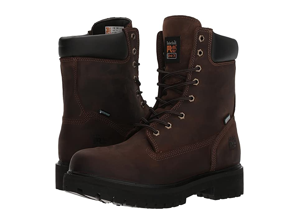 Timberland PRO Direct Attach 8 Soft Toe (Brown Oiled Full-Grain Leather) Men