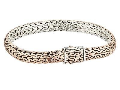 John Hardy Classic Chain 7.5mm Reversible Bracelet (Silver/Bronze) Bracelet