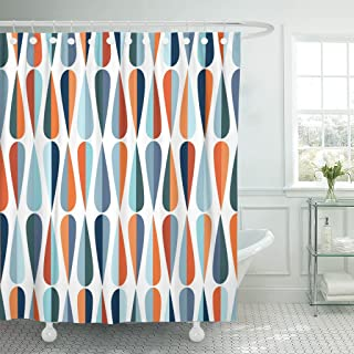 Best orange mid century modern curtains Reviews