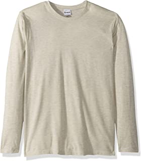 Soffe Men's Tri-Blend Long Sleeve Crew Neck Tee,