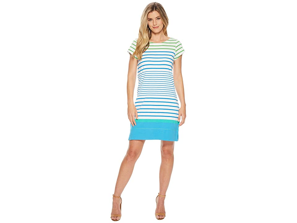 Hatley Nellie Dress (Seaglass Stripes) Women