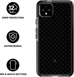 tech21 Evo Check Phone Case for Google Pixle 4 XL - Smokey/Black - Antimicrobial BioShield with 12ft Drop Protection