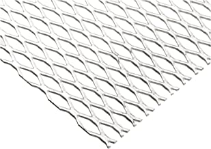 "Online Metal Supply Steel Expanded Metal, Galvanized, Flattened Sheet 1/2#16.050"" x 24"" x 36"""
