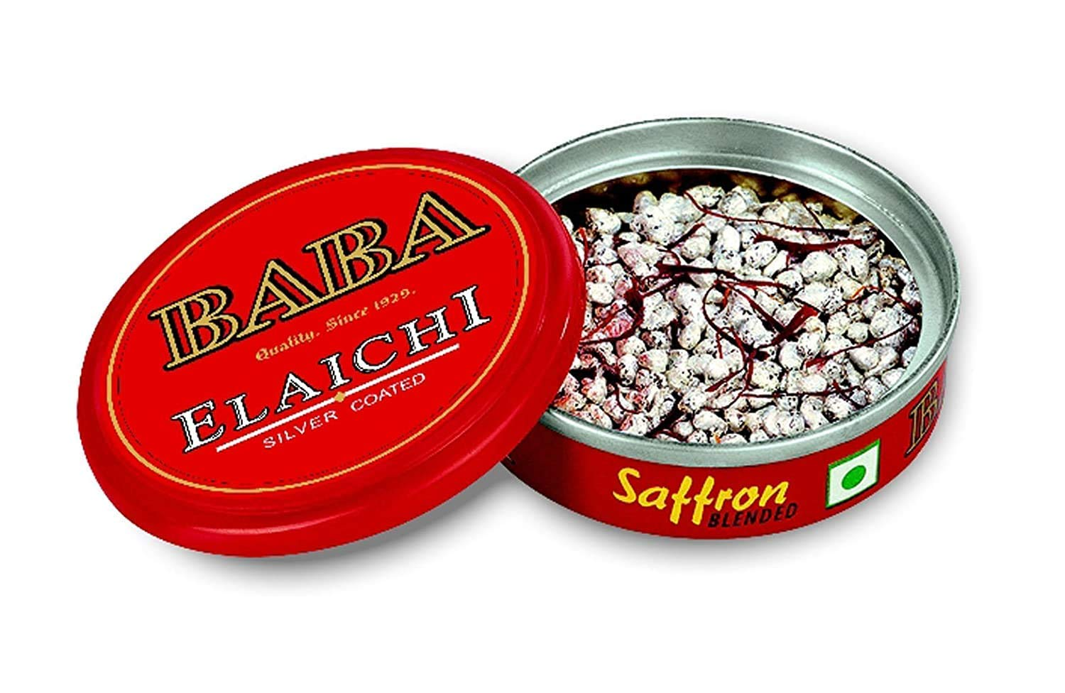 Baba Elaichi Silver Coated All stores are sold Saffron Inexpensive Mouth Seeds Cardamom Blended